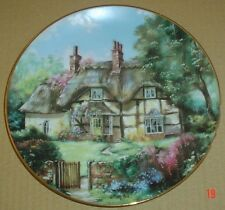 The Hamilton Collection Collectors Plate GINGER COTTAGE