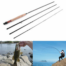 Outdoor Fish Rod Spinning 4 Sections Fishing Tackle Fly Fishing Pole Gear Rod XG