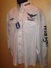 Wrangler Trevor Brazile Relentless Long Sleeve Rodeo Shirt Embroidered XL NEW
