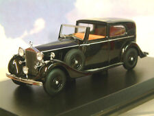 OXFORD 1/43 ROLLS ROYCE PHANTOM III SEDANCA DE VILLE MULLINER BLACK 43RRP3001