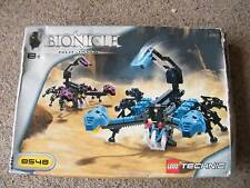 Lego Bionicles NUI-JAGA Figures Set 8548 and  Box & instructions 100% Complete