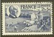 "FRANCE TIMBRE STAMP N° 607 "" CORPORATION PAYSANNE PETAIN 2F+3F "" OBLITERE TB"