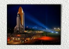 DISCOVERY SHUTTLE KENNEDY SPACE CENTER FLORIDA FRIDGE MAGNET -ghf4Z