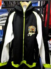 COOGI MENS BLACK HOODED ZIP SWEATSHIRT JACKET TOP USA SIZE 3XL BIG AND TALL FIT