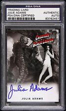 2014 Julia Adams Creature From The Black Lagoon Signed Card (PSA/DNA Slabbed)