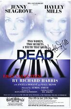 HAYLEY MILLS ACTRESS FILM TIGER BAY STAGE DEAD GUILTY HAND SIGNED Colour PLAYBIL