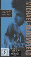 Michael Bloomfield: From His Head To His Heart To His Hands, 3CD + 1DVD New