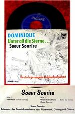 Single Soeur Sourire Dominique - rare deutsch gesungene