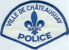 Ville De Chateauguay Police QC Quebec Police Patch Canada
