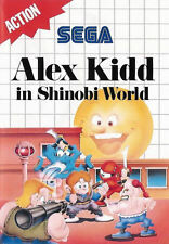 Alex Kidd in Shinobi World SEGA Master System Framed Print (Man Cave Picture Art