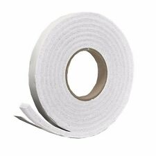 Thermwell 22410865 Frost King White High-Density Rubber Foam Weatherstrip Tape