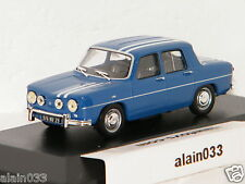 RENAULT R8 GORDINI 1300 BLEUE RAYURES BLANCHES 1969 SOLIDO 1/43 Ref S4300100