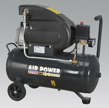 Sealey SAC2420E110V Compressor 24ltr Direct Drive 2hp 110V