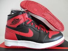 NIKE AIR JORDAN 1 HIGH THE RETURN BLACK-GYM RED-WHITE SZ 9.5 [768861-001]