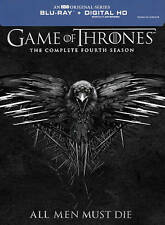 Game of Thrones: The Complete Fourth Season (Blu-ray Disc, 2015, 4-Disc Set, In…