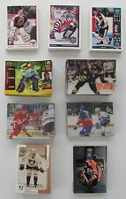 1991-92 to 1999-2000 McDonald's Upper Deck and Pinnacle Hockey Sets (7)