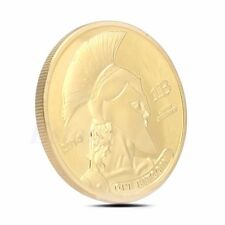 Gold Plated Titan Commemorative Coin BTC Bitcoin Collectible Christmas Gifts New