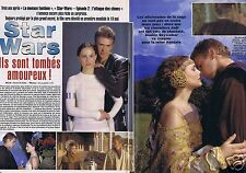 Coupure de presse Clipping 2002 Natalie Portman & Hayden Christensen  (4 pages)