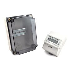 100A Electric 120/240 Volt Power kWh Meter & Water Tight Enclosure #3 #19