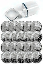 Roll(20)- 2016 Armenia 500 Drams 1 Troy Oz .999 Silver Noah's Ark Coins SKU38656