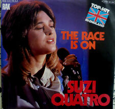 """7"""" 1978 GLAM IN MINT- ! SUZI QUATRO :  The Race Is On"""