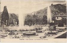 COLLODI - VILLA GARZONI - LE FONTANE NEL GIARDINO - PESCIA (PISTOIA)