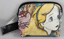 New Disney Alice In Wonderland Cosmetic Make-Up Tote Bag Purse