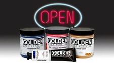 Golden Open Acrylics Fluid Medium Gloss 8 oz.