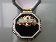 Women's 9ct Gold Opal Ring Weight 1.6g Size N Stamped Quality Ring