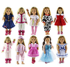 10 Set of Doll Clothes for 18'' American Girl Doll Princess dress skirt A-1