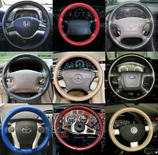 Wheelskins Genuine Leather Steering Wheel Cover for Volkswagen Rabbit