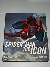 SPIDERMAN THE ICON TITAN BOOKS STEVE SAFFEL STAN LEE HARDBACK 9781845763244