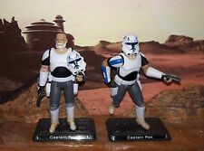 "Star Wars CUSTOM Rebels Captain Rex 4"" fig. More Articulate"