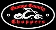 Orange County Choppers toppa ricamata termoadesivo iron-on patch Aufnäher