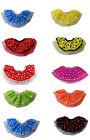 Womens 50's Polka Dot Rock n Roll Neon Tutu Skirt Fancy Dress Fifties Costumes +