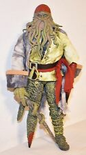 "Pirates Of The Caribbean Davy Jones 12"" Action Figure Zizzle Walt Disney"