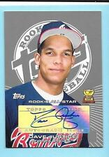 2005 Topps Rookie Cup David Justice Autograph Braves