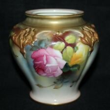 Royal Worcester - Hadley's Roses - Pot Pourri, Shape H279 - 1912 - vgc