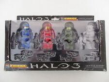 COFFRET FIGURINES HALO 3 MASTER CHIEF COLLECTORS SET - KUBRICK MEDI COM TOY