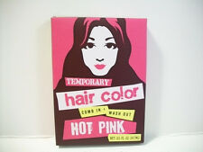 "Temporary Hair Color  in Hot Pink ""Comb in, Wash Out"""