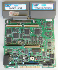 Sega ST-V Stv TESTED WORKING & Winter Heat & Virtua Fighter Remix Jamma