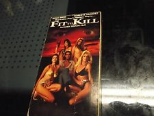 FIT TO KILL VHS Starring Dona Speir Directed by Andy Sidaris