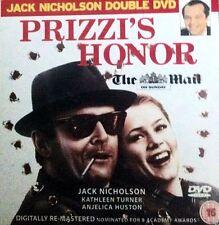 DVD Mail on Sunday Promo PRIZZI'S HONOR Jack Nicolson Kathleen Turner Black Com