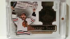2013-14 Panini Dominion Brandon Saad Engravatures SC Champs Silver Plate 12/15
