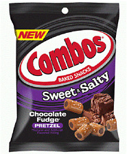 Combos Chocolate Fudge Pretzel Snacks