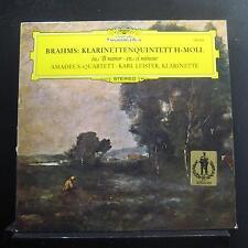 Karl Leister - Brahms Klarinettenquintett H-Moll LP Mint- 139 354 Vinyl Record