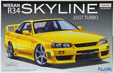 Fujimi ID-15 Nissan Skyline (R34) 25GT Turbo Full Aero 1/24 scale kit