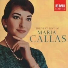 MARIA CALLAS - BEST OF SINGERS,THE VERY 2 CD 31 TRACKS SOPRAN OPER NEU