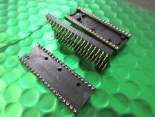 40 Pines Zócalo IC se convirtió en oro contacto, tono 2.54mm Ancho 15.24 PIN-PIN (x3)