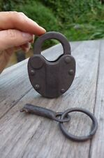 Antique / Vintage Padlock with one working key ''48''